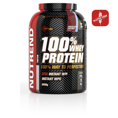 NUTREND 100% Whey Protein Dose 2250 g