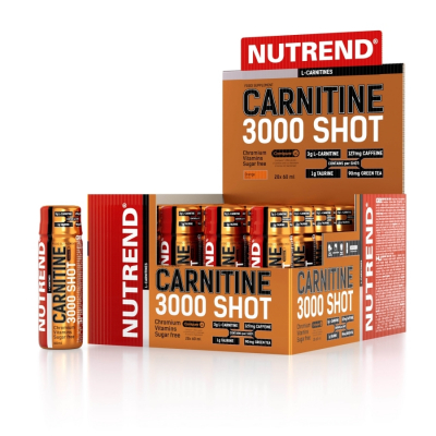 NUTREND Carnitine 3000 Box 20 Shots a 60 ml