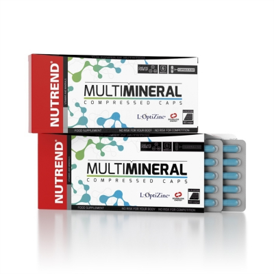 NUTREND Multimineral Compressed Caps Packung 60 Kapseln